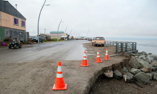 Researchers developing accurate storm models as climate changes affect Alaska's coastline and residents