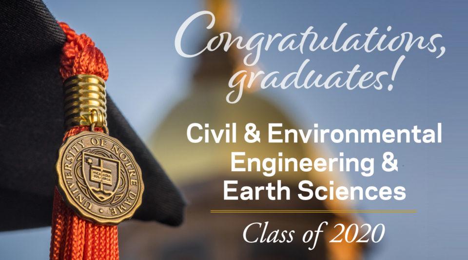 Congratulations CEEES 2020 Graduates