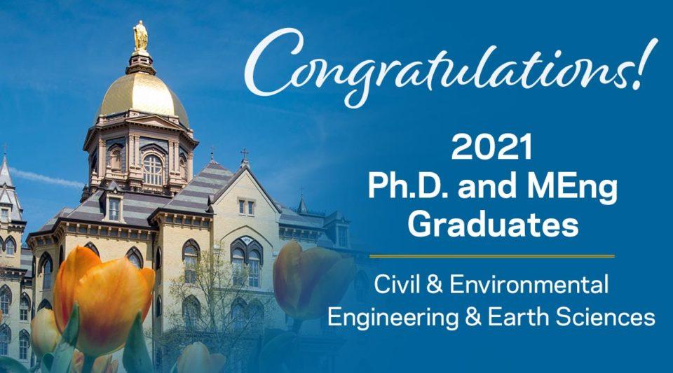 Congratulations 2021 Ph.D. and MEng graduates